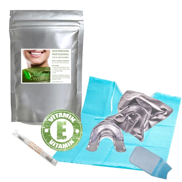 NON-Peroxide Teeth Whitening In Chair Treatment Pack - 10+