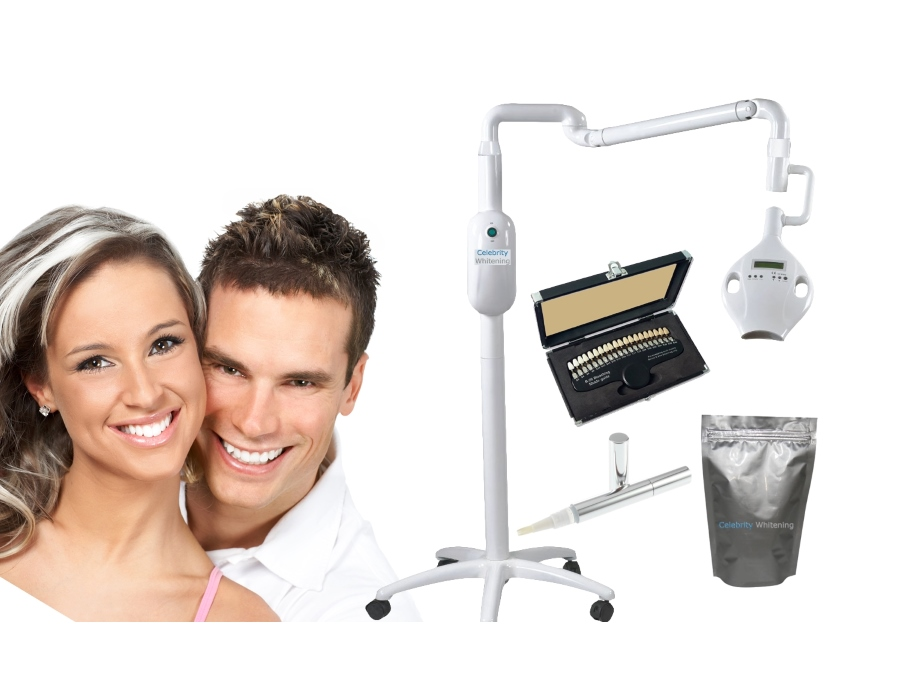 Pro 9000 Salon Teeth Whitening Equipment - 12 Treatments